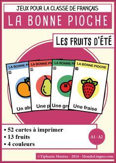 BP - Fruits d'été | Mondolinguo - Français