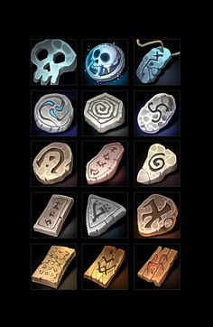 Buy Ancient Manuscript Icons by a-ravlik on GraphicRiver. The set includes 100 icons. Books scrolls and runes. There are transparent PNG. Design Ios, Game Design, Flat Design, Design Thinking, Stone Game, Vikings Game, Casual Art, Game Development Company, Two Player Games