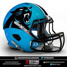 NFL Concept Helmets by Imgur | Carolina Panthers