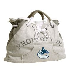 Vancouver Canucks NHL Property Of Hoodie Tote