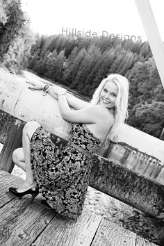 Senior Picture Over The River