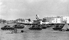 Cuban Army Comet tanks at Havana Airport Cuban Army, Cromwell Tank, Armored Fighting Vehicle, Military Diorama, World Of Tanks, Rest Of The World, Skin So Soft, Ww2, Paris Skyline