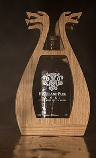 Highland Park's new Loki single malt Scotch.