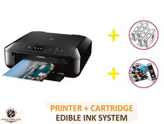 Print with Inks for Incredible Also included with the software are features such as the Auto Photo Fix, which corrects redeye and enhances your images. Edible Ink Printer, Photo Fix, Printer Cartridge, Your Image, Software, The Incredibles, Cakes, Cake Makers, Kuchen