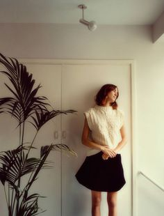 Alexa Chung photographed by Tom Craig for Glamour