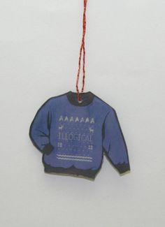 Star Trek Spock Ugly Christmas Sweater Ornament by GeekEcrafts Star Trek Spock, Ugly Christmas Sweater, Being Ugly, Fandom, Christmas Ornaments, Stars, Trending Outfits, Holiday Decor, Handmade Gifts