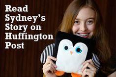 Read teen #entrepreneur Sydney's story in the Huffington Post. Poketti Plushies.