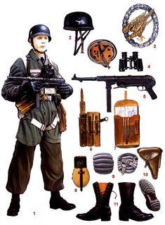 парашютисты Германии 1935-45 гг.