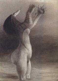 Serpent Nightmare  1902-3 Alfred Kubin