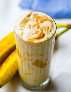 Meal Replacement Energy-Boosting Banana Peanut Butter Smoothie
