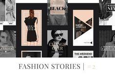 Fashion Instagram Stories V2 by MinimalStudioCo on @creativemarket