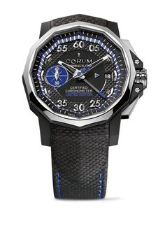Wow that's actually a nice looking watch with a fabric based strap. Shocking! #Corum Admiral's Cup Bol d'Or Mirabaud 2012 Watch