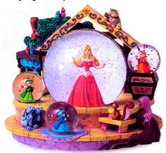 Yet another Sleeping Beauty snowglobe
