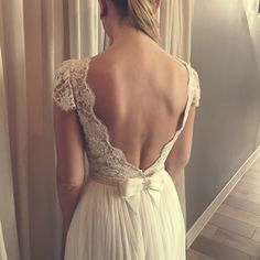 Love this lacy back, by Lihi Hod