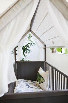 Stokke Home Bed Hazy Grey featured on DESIGN MILK