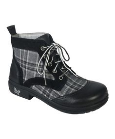 Look what I found on #zulily! Night Plaid Kylie Leather Boot by Alegria #zulilyfinds