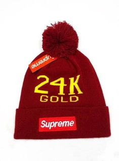 21b4a615295 2017 Winter Hot Supreme Beanie knitted hat Supreme Hat