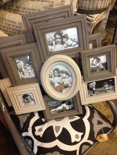 vintage frame cluster