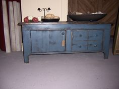 Sturbridge Coffee Table. Shown in Salt Box Blue