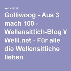 Golliwoog - Aus 3 mach 100 - Wellensittich-Blog Welli.net - Für alle die Wellensittiche lieben
