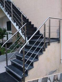 Best Stainless Steel Handrail Moderna Stair Railing Design 400 x 300