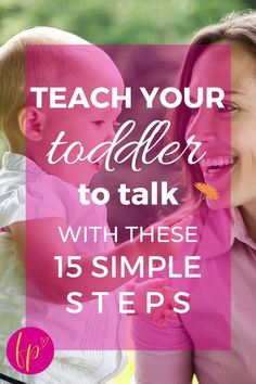 At home toddler speech development activities, ideas, and games for parents might mean the difference between needing speech therapy or not. You can greatly improve your toddler's ability to talk with these language tips for kids learning how to talk. #speechdevelopment #toddler Emotional Development, Baby Development, Language Development, Natural Parenting, Good Parenting, Toddler Speech, Taking Care Of Baby, Happy Mom, Christian Parenting