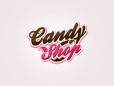 Chocolate Store Logo | logo design for shops with candies finally logo looks little bit ...