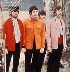 Production still from the Strawberry Fields Forever promotional film, shot at Knole Park, 1967.
