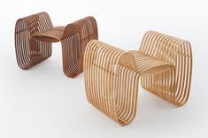 bow tie chair for your home too! One man army- designer Scott Lin of the Taiwanese Gridesign Studio has created this fancy looking low tech 'bow tie chair' Modular Furniture, Wicker Furniture, Design Furniture, Chair Design, Building Furniture, Contemporary Furniture, Outdoor Furniture, Furniture Inspiration, Design Inspiration