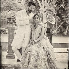 More than a year ago, a girl from one of Delhi's prestigious colleges became an overnight celebrity when the news of her tying the knot with Shahid Kapoor started doing the rounds. Shahid broke many hearts when he married Mira Rajput on July 7 last year. Big Indian Wedding, Desi Wedding, Wedding Bride, Wedding Poses, Wedding Shoot, Wedding Bells, Wedding Stuff, Bollywood Images, Bollywood Stars
