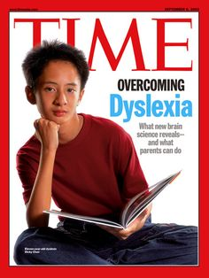 Time article on dyslexia, to understand what Mitch went through
