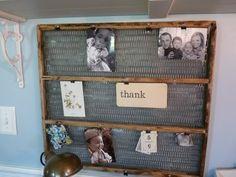 Vintage farmgirl | Flower Patch Farmgirl: Vintage Memo Board
