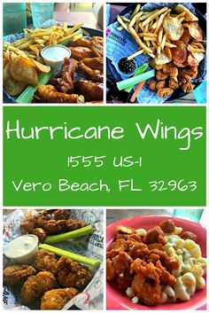 Hurricane Wings is our go-to place in Vero Beach for wings, beer, and sporting events. Do you have a favorite spot like this in your home town?