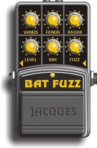 Jaques Stompboxes - Bat Fuzz distortion pedal.