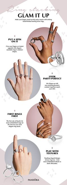 157 Best Pandora Rings images in 2019 | Pandora rings, Rings