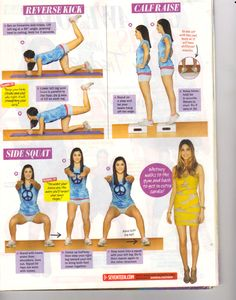 I think it's funny that this is from Seventeen magazine...  But, it's a good workout!