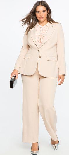 Plus Size Suit
