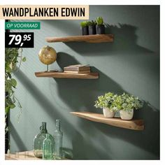 Industrial Wall Shelves, Unique Wall Decor, Wall Racks, Shabby Chic Kitchen, Wood Interiors, Affordable Furniture, Apartment Interior, Floating Shelves, Home Accessories