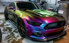 Awesome paint job for a great car.