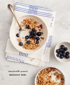 Breakfast Bowl with Amaranth Granola from @loveandlemons