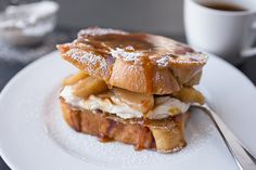 "Caramel Apple ""Stacked"" French Toast"