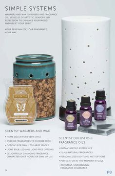 New Scentsy 2015 Fall/Winter 2015 Simple Systems https://yourhousewillsmellgreatwithkris.scentsy.us/