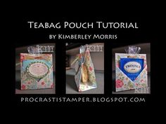 Teabag Pouch Tutorial - tea bag holder Score parallel to the side at and Score parallel to the side at and at Cut the squares from each corner. Homemade Gifts, Diy Gifts, Diy Tea Bags, Pouch Tutorial, Envelope Tutorial, Fold Envelope, Stampin Up, Christmas Tea, Simple Gifts