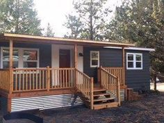 Take a look at this 1978 double wide remodel. Kelly and Frank were able to trans Informationen zu Take a look at this 1978 double wide remodel. Kelly and Frank were able to trans Pin Sie können mein P Mobile Home Siding, Mobile Home Redo, Mobile Home Porch, Mobile Home Exteriors, Mobile Home Renovations, Mobile Home Repair, Mobile Home Makeovers, Mobile Home Floor Plans, Mobile Home Decorating