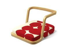 SOU・SOU×天童木工 環/kan - 高度な技術から生まれた座椅子。
