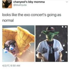 Looks pretty typical for an EXO concert