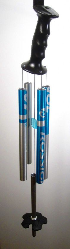 Ski Pole Chime. The Perfect Gift for Skiers by PowderPipes