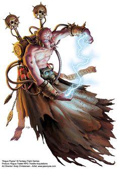 Rogue Psyker by jasonjuta.deviantart.com on @deviantART