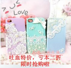 Kant parel diamant plakken shell telefoon kits diy sieraden diamanten diamanten telefoon shell stof Manicure Set - Taobao