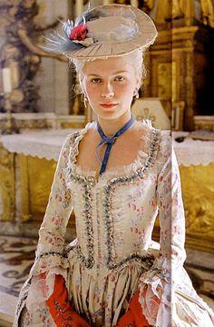 Kirsten Dunst as Marie Antoinette in Marie Antoinette, 2006